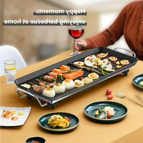 Non Roast Smokeless Electric BBQ Griddle Pan