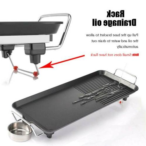 Non Roast Smokeless Cooking BBQ Griddle