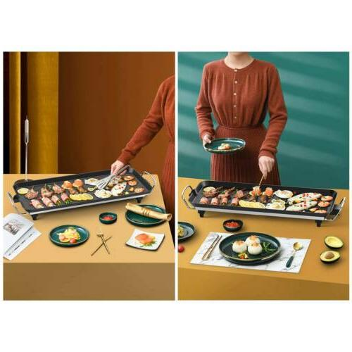 Non Smokeless Cooking BBQ Griddle Pan