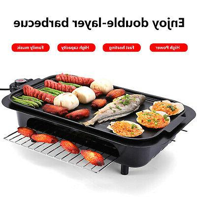 Electric Pan Stick Barbecue Smokeless Cooking