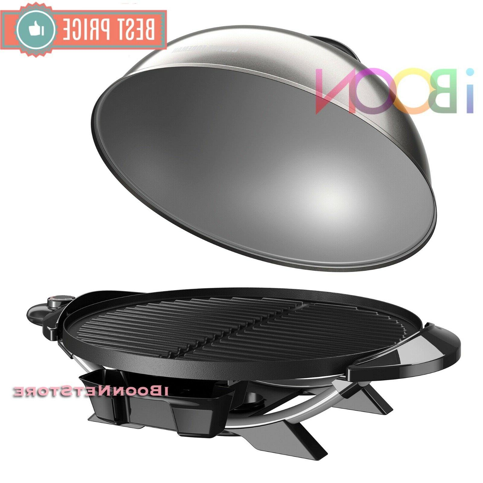 Electric Griddle Indoor Rotisserie Barbecue