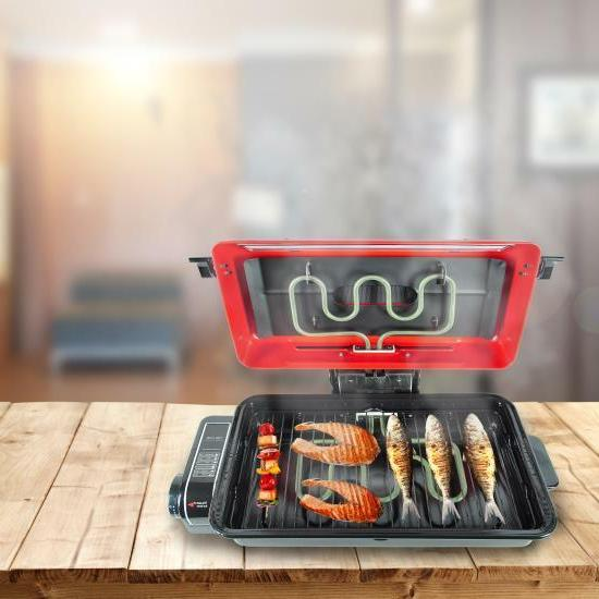 NutriChef Grill Indoor Grilling Barbecue,