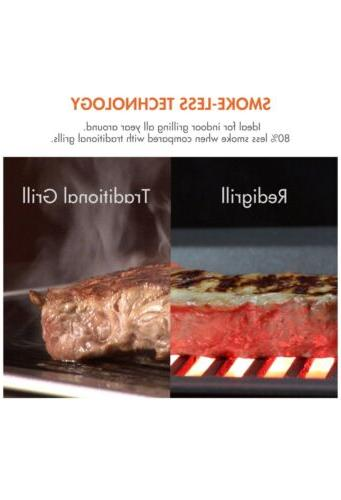 Electric Grill Smokeless Nonstick BBQ
