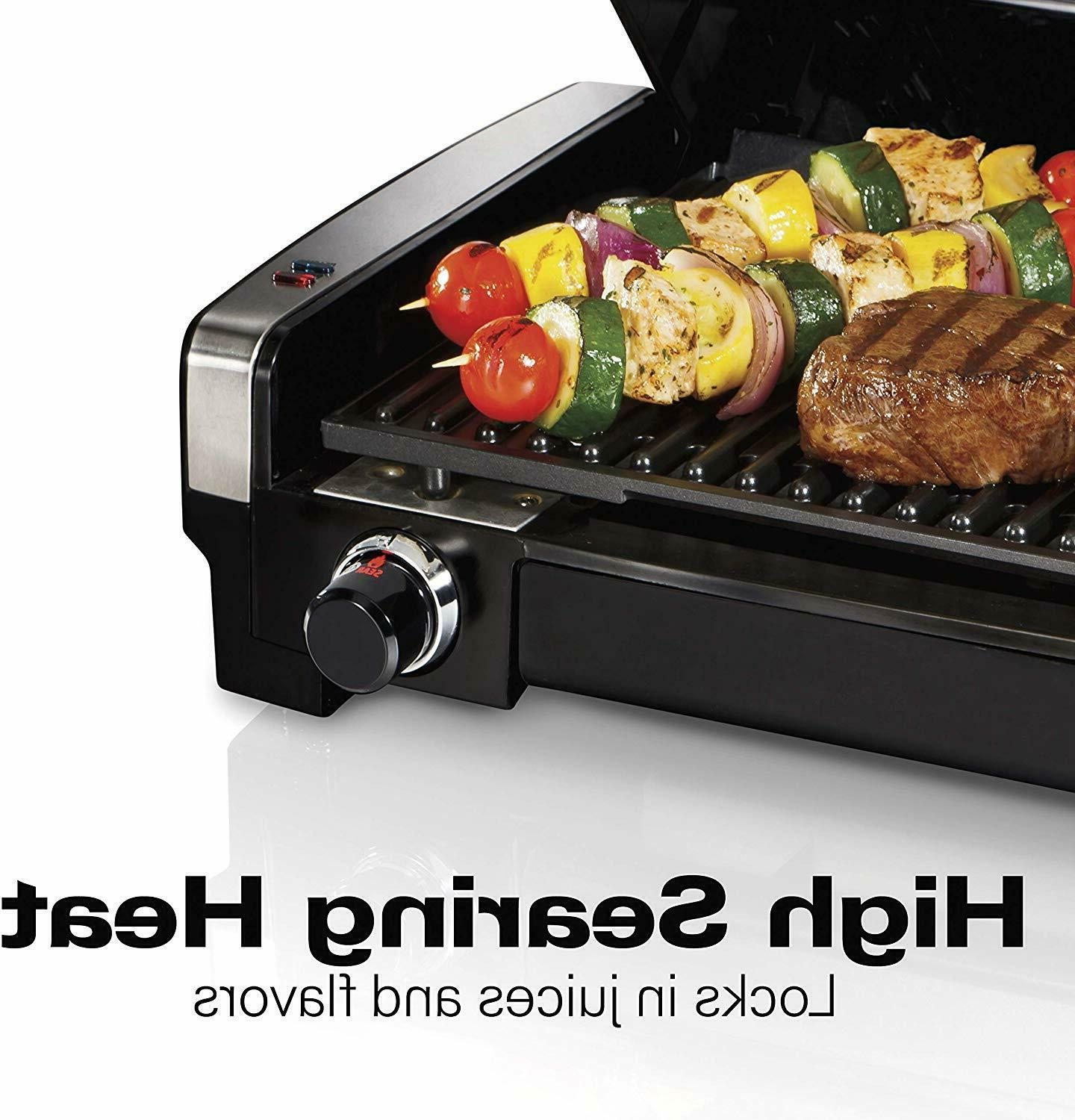 Electric Indoor Searing Removable Plates Nonstick