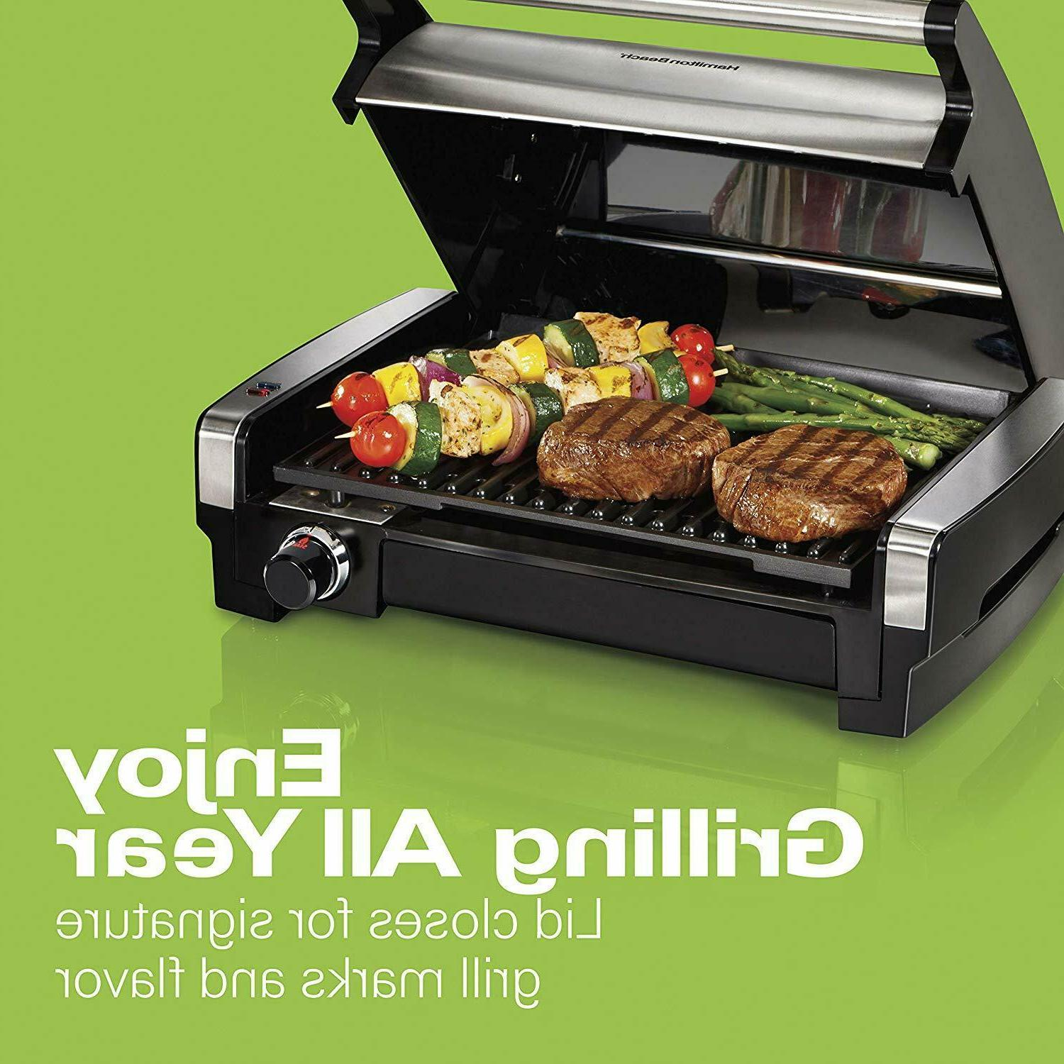 Electric Indoor Grill Searing Nonstick