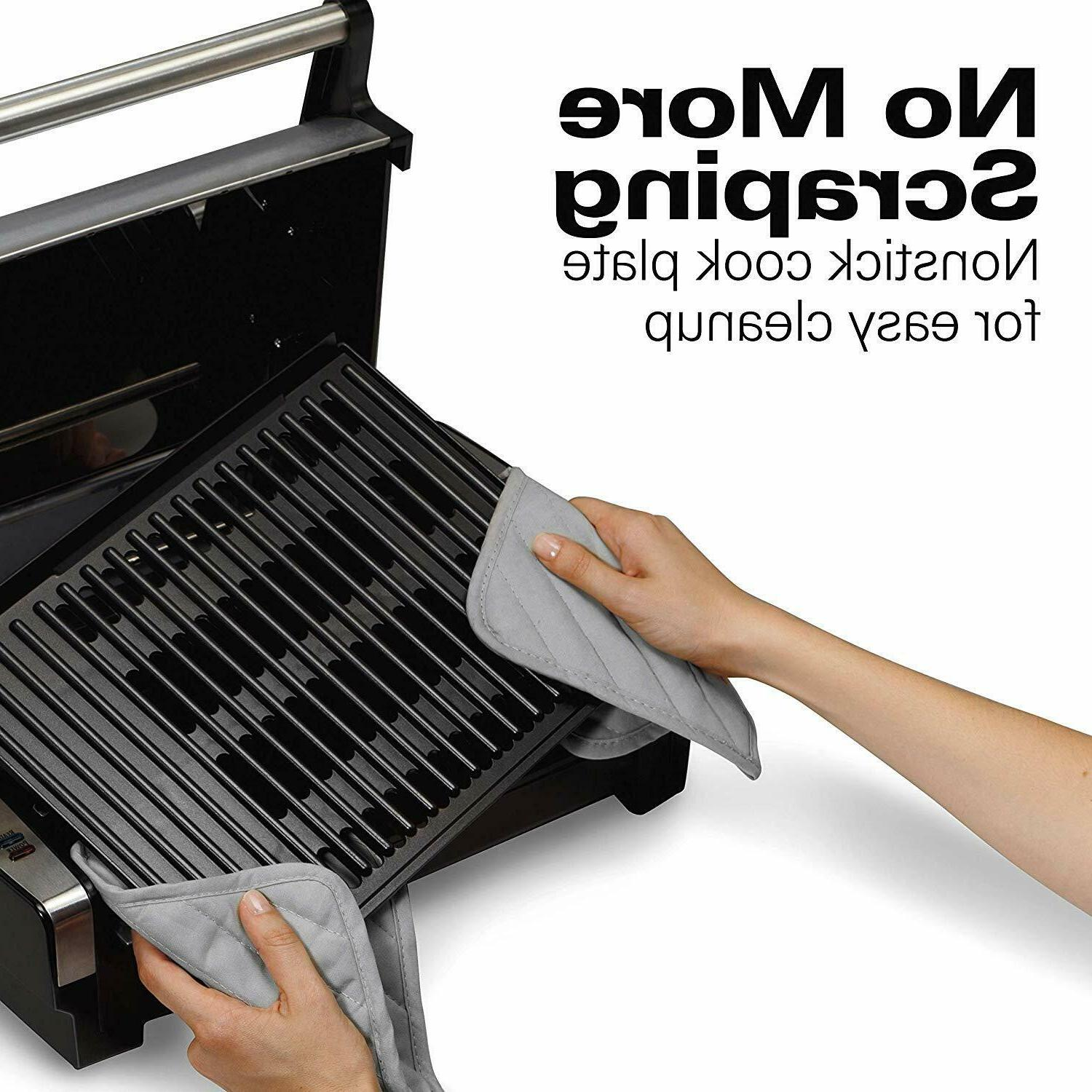 Electric Indoor Grill Nonstick Grill