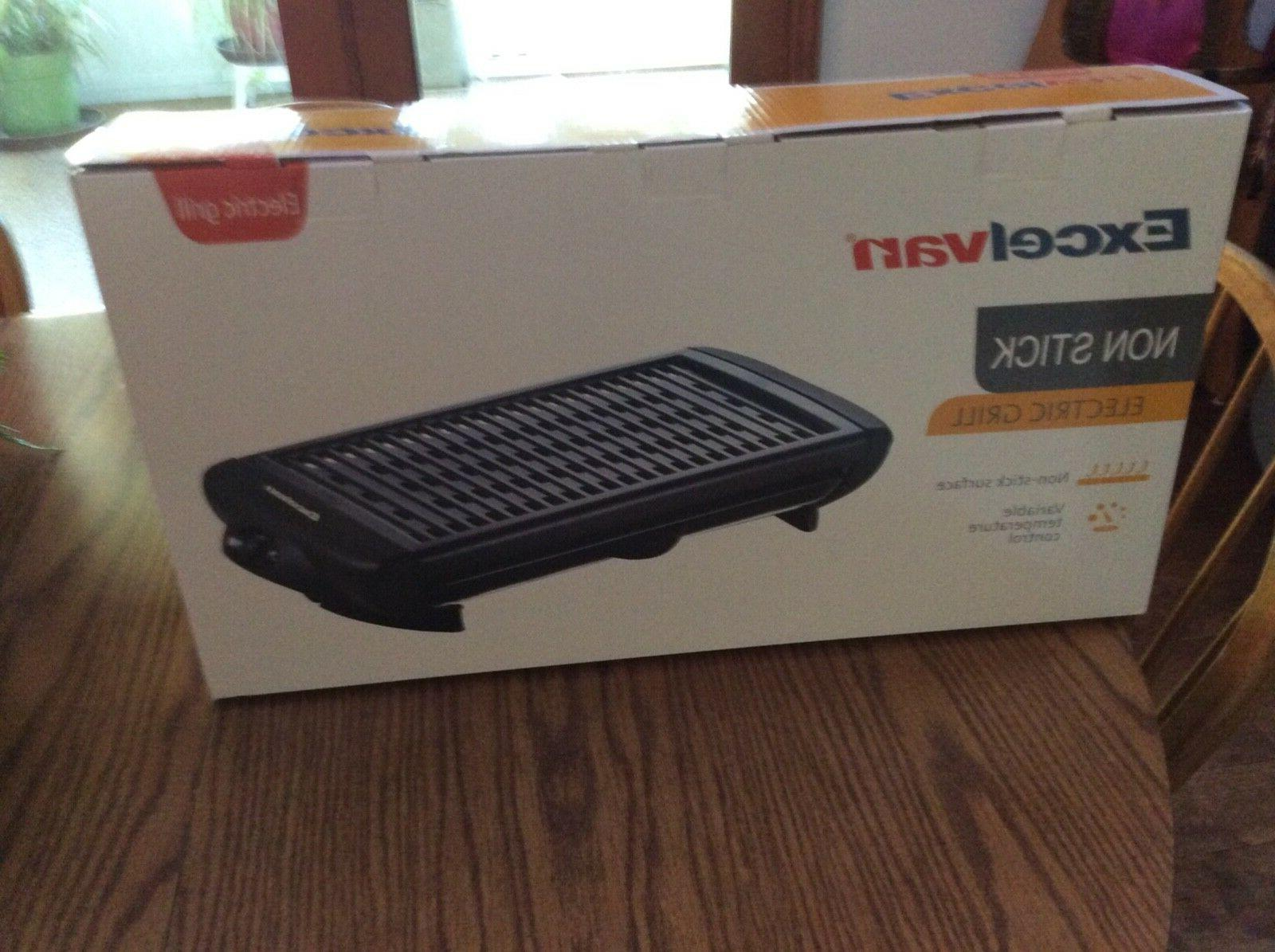 electric non stick grill griddle barbecue smokeless