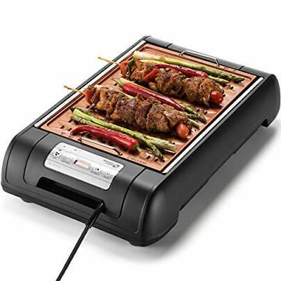 Magic-Mill Electric and Pan for Indoor BBQ kitch