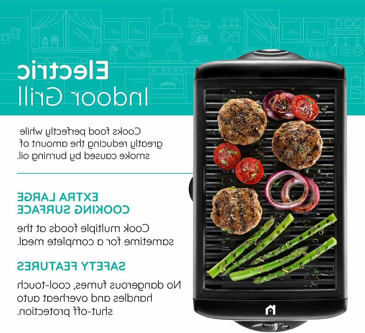 Electric Indoor Grill, Large
