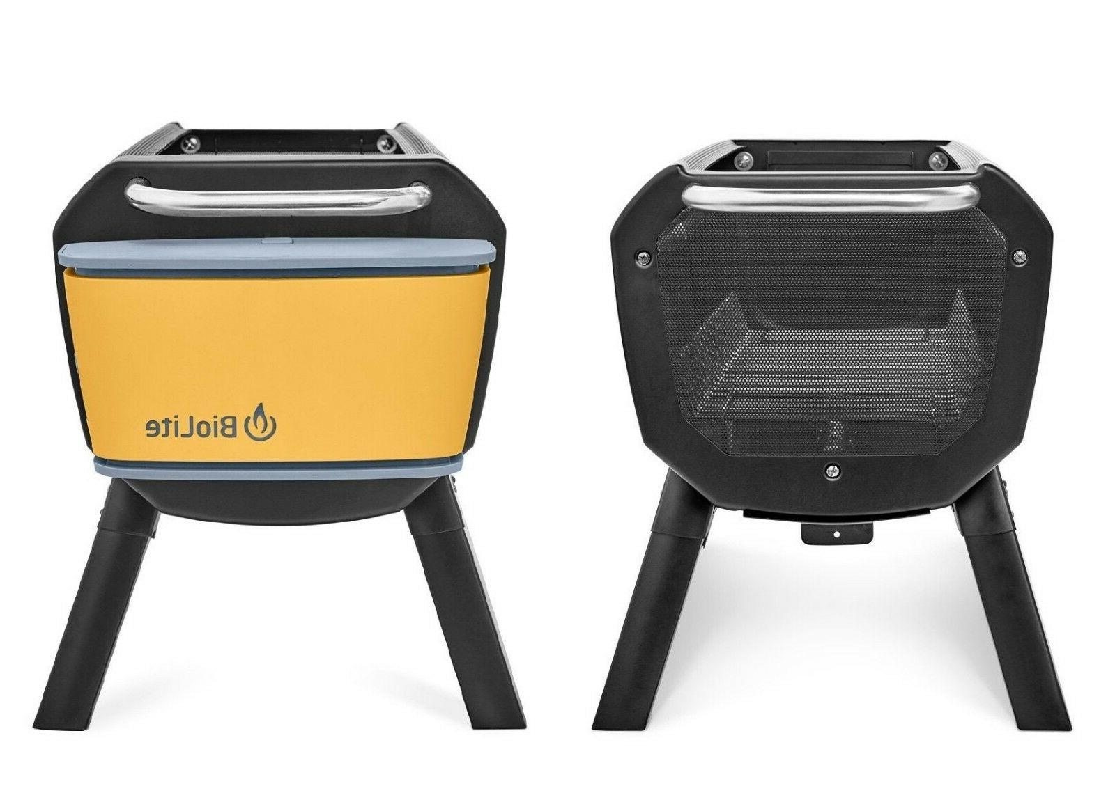 BioLite Fire Pit and Grill Wood & Burning USB