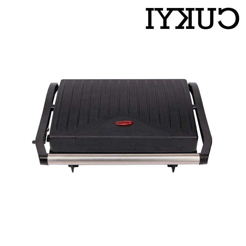 For home BBQ double-sided heating hot hamburger steaking