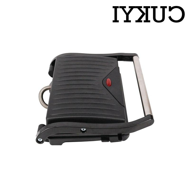 CUKYI <font><b>Electric</b></font> <font><b>Griddle</b></font> For home BBQ plate double-sided fast heating hot steaking