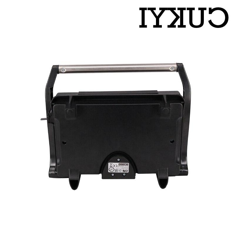 CUKYI <font><b>Grill</b></font> <font><b>Griddle</b></font> For BBQ plate double-sided fast heating <font><b>Smokeless</b></font> hot dog grilling steaking machine