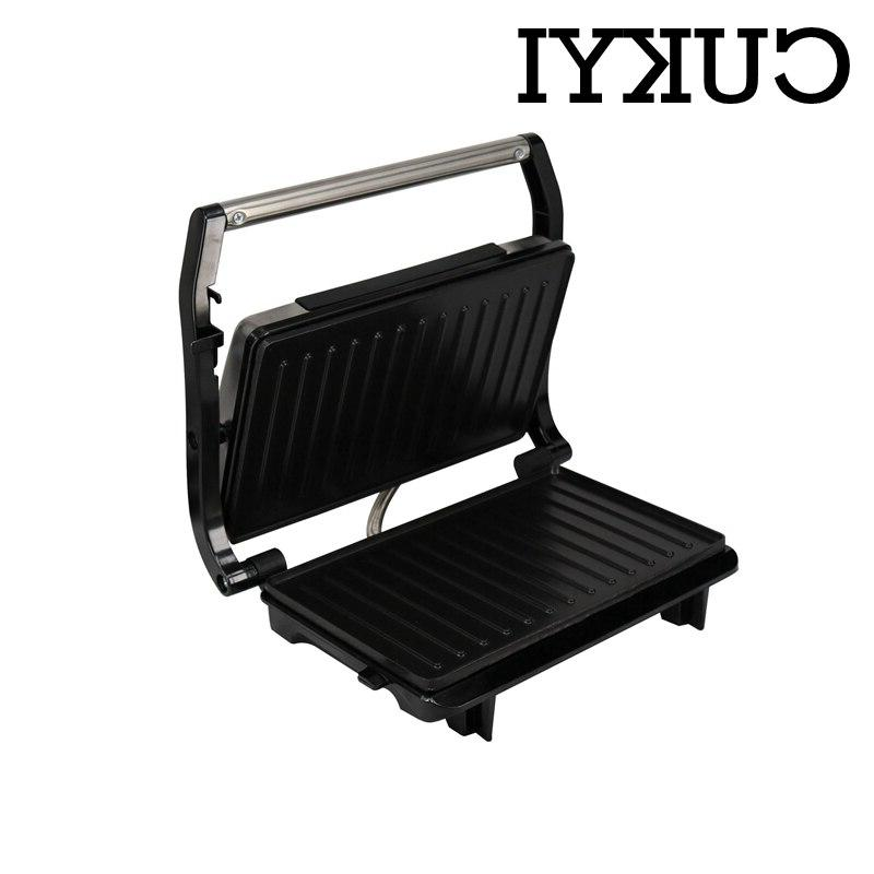 CUKYI <font><b>Electric</b></font> For BBQ double-sided heating <font><b>Smokeless</b></font> hot dog grilling