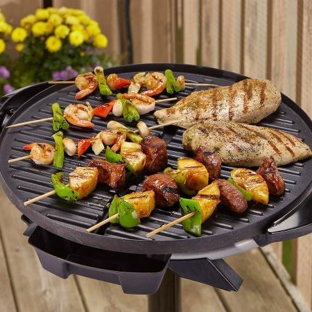 Electric Indoor / Outdoor Non-Stick Barbecue Grill
