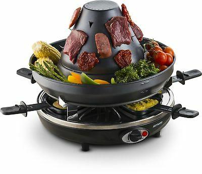 geg1400 electric raclette party grill