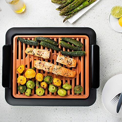 Gotham Indoor Electric Smokeless Grill - As Seen On
