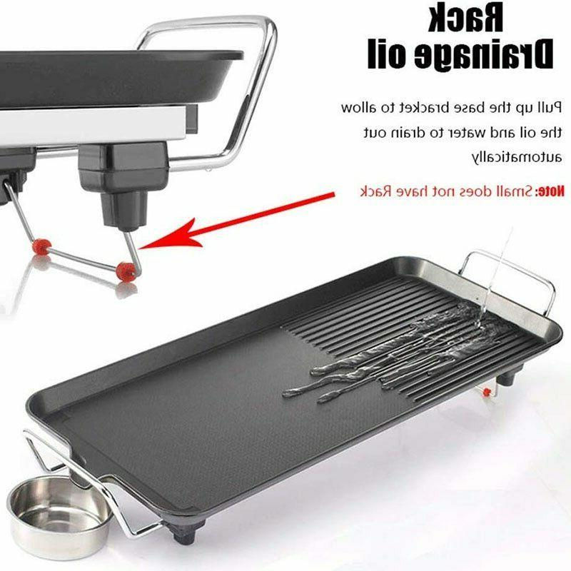 Grill Electric Indoor Non Stick Smokeless Plate