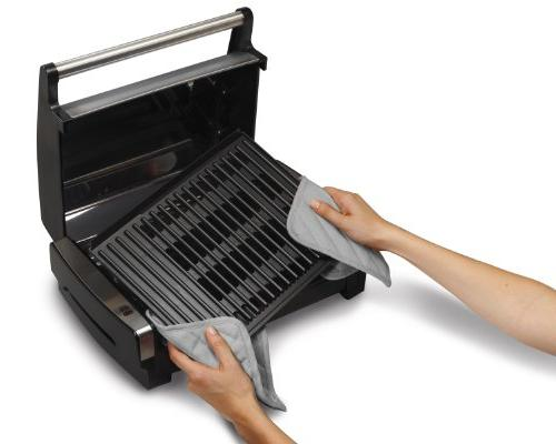 Hamilton Beach Searing Stainless Steel Removable And Dishwasher-Safe Cover