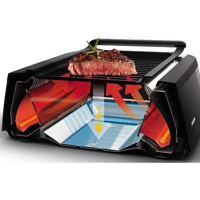 Philips Avance Collection Smokeless Indoor Electric Grill in Black