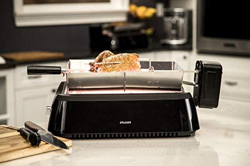 Philips HD6971/00 Smoke-Less Rotisserie