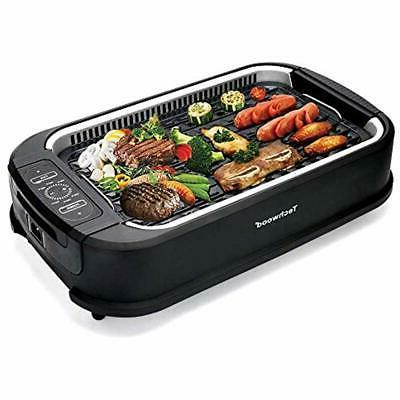 indoor contact grills smokeless with advanced extractor