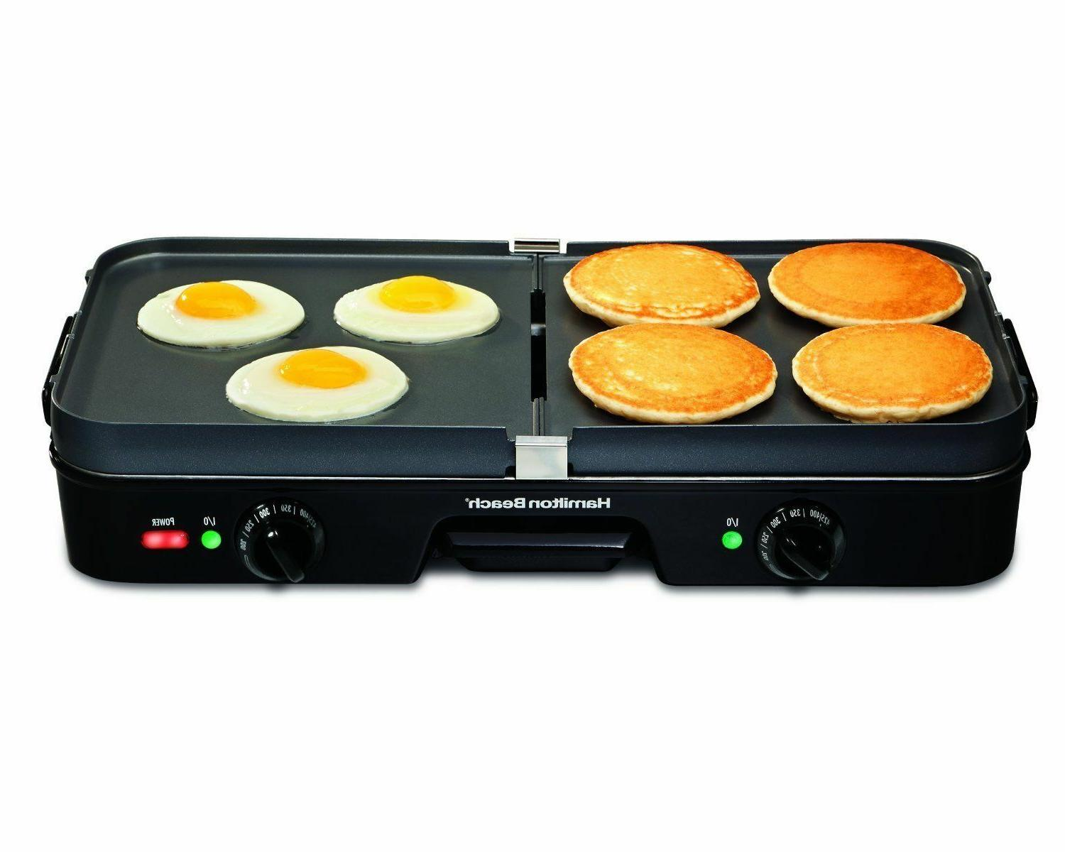 Griddle Smokeless Two Plate Stove