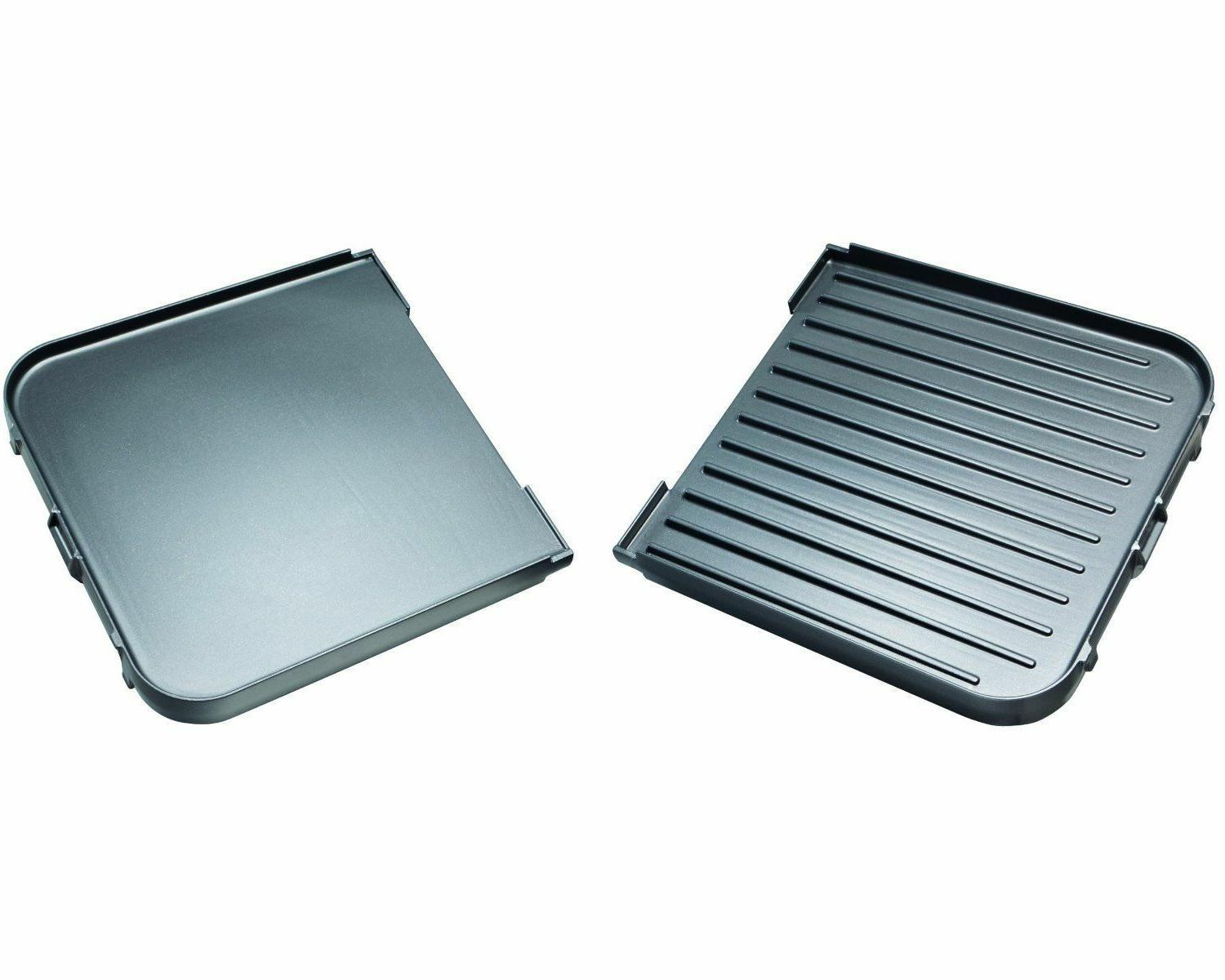 Indoor Griddle Smokeless Countertop Two Plate