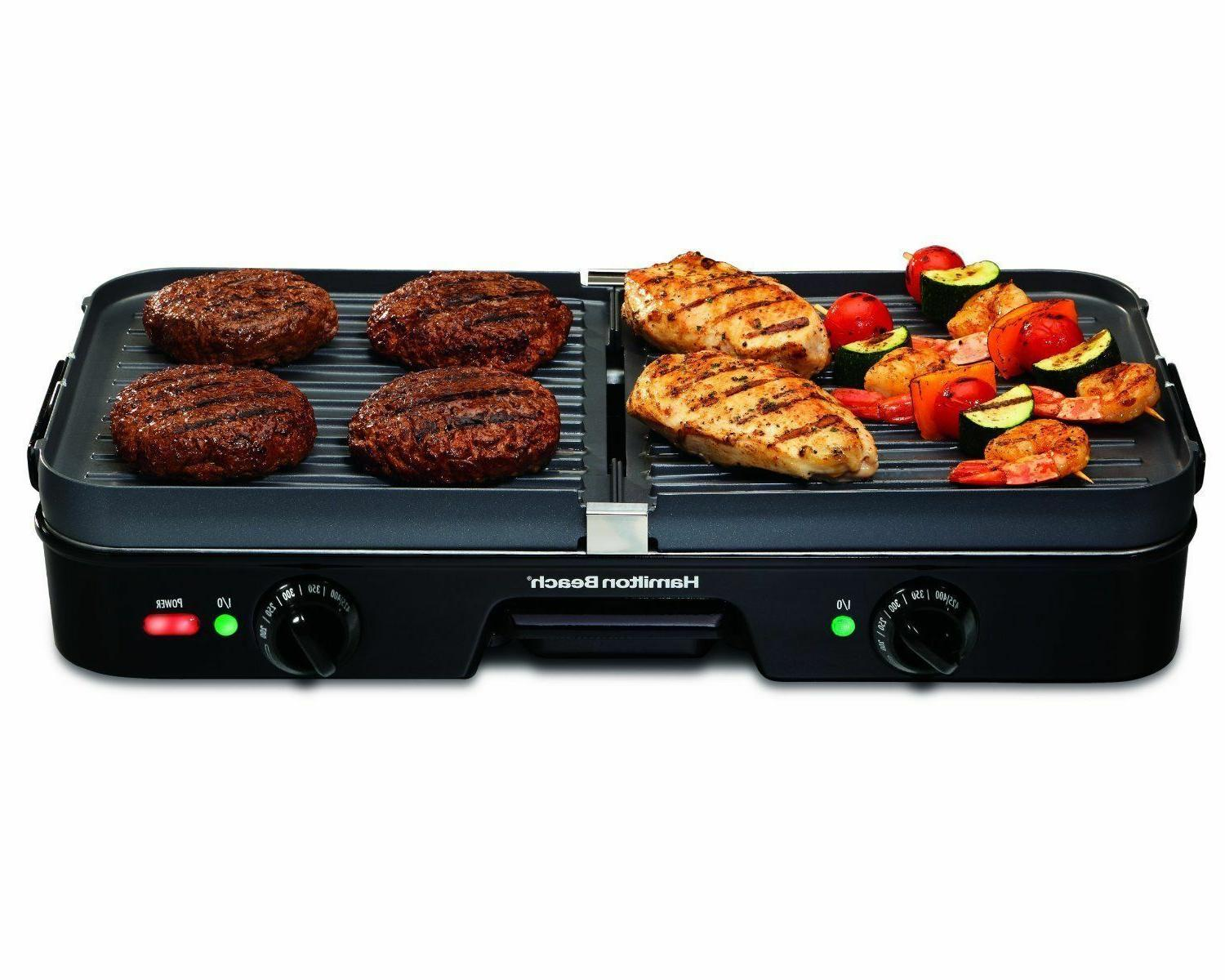 Indoor Grill BBQ Griddle Smokeless