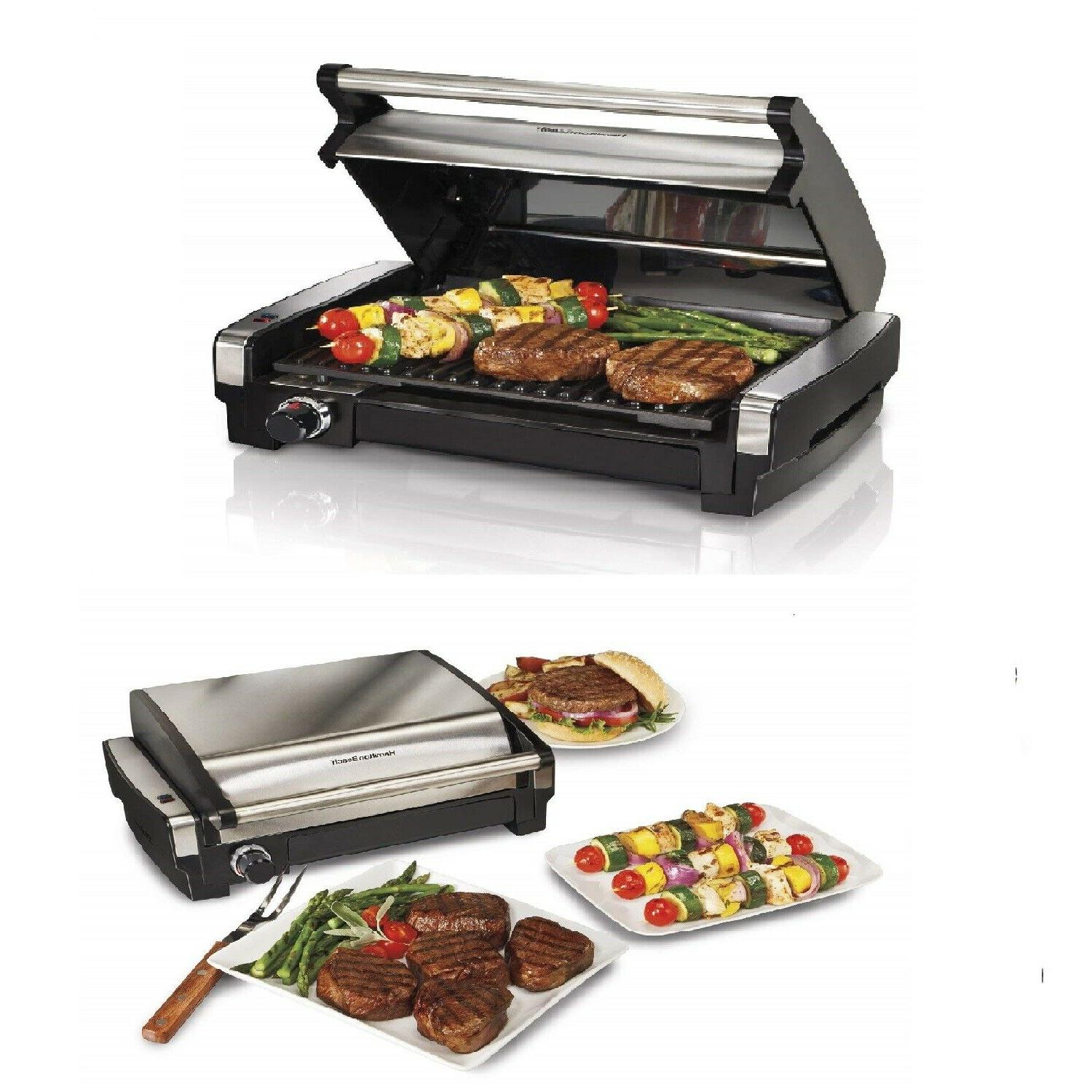indoor electric grill smokeless portable bbq kitchen