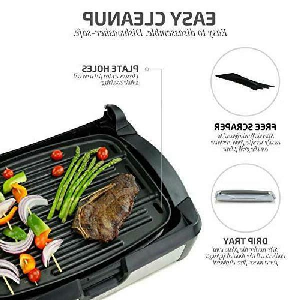 INDOOR GRIDDLE BBQ Portable Black Stick 1700