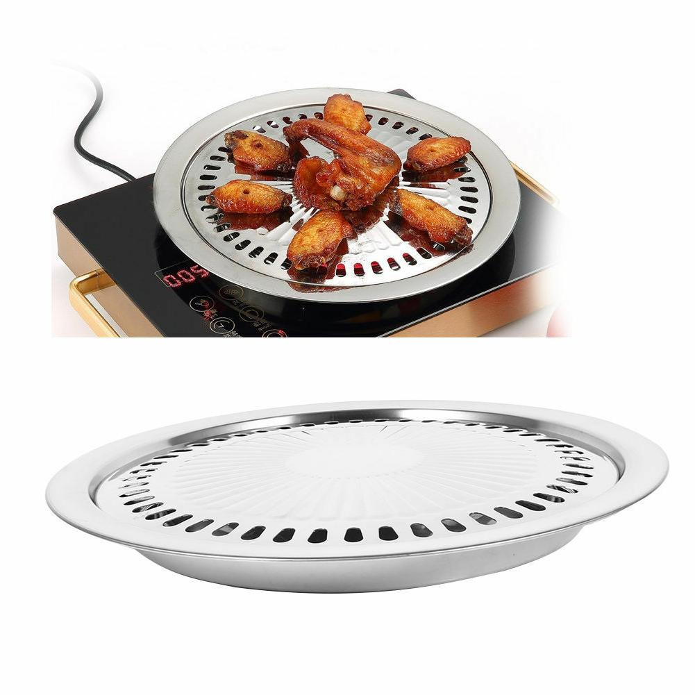 indoor outdoor bbq smokeless stovetop grill non