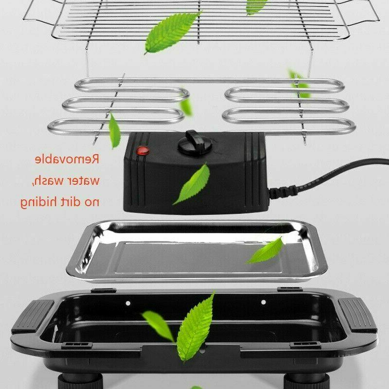 Indoor/Outdoor Portable Barbecue Grill Cooking