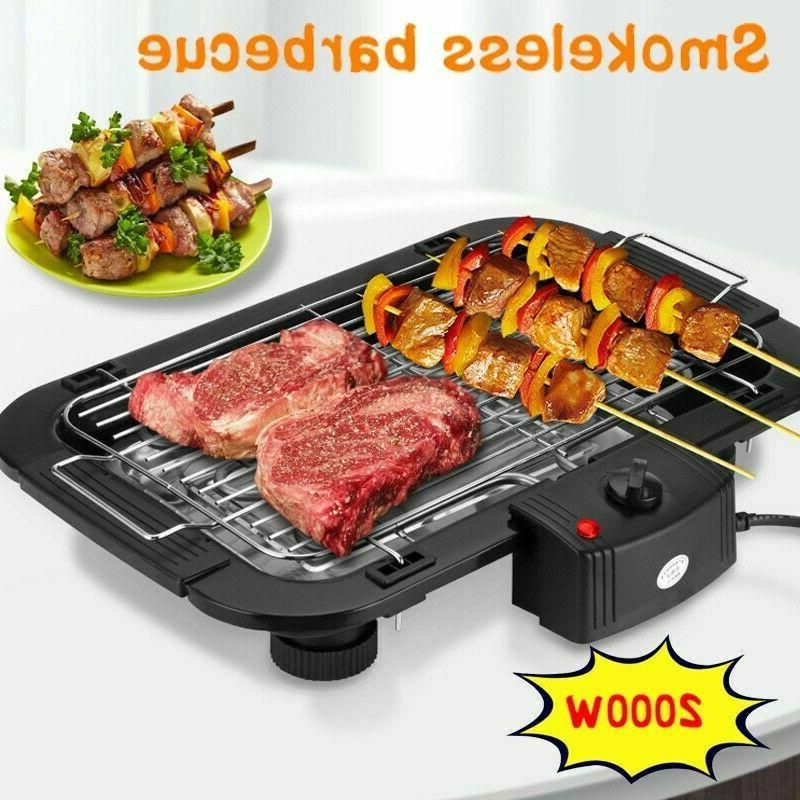 Indoor/Outdoor Portable Grill Cooking Smokeless