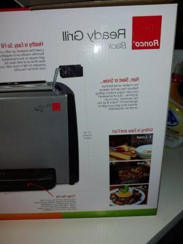 Ronco Indoor Ready Grill Oven Cooker Steel Healthy Cooking