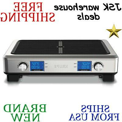 indoor smoke less grill stainless steel digital