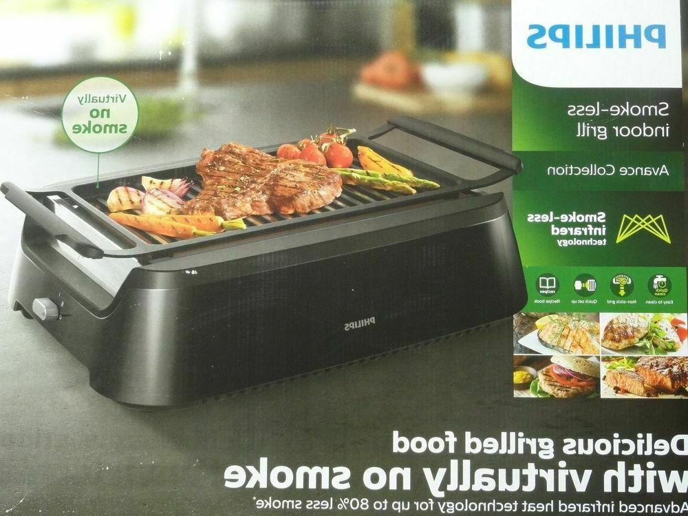 Philips Grill Black