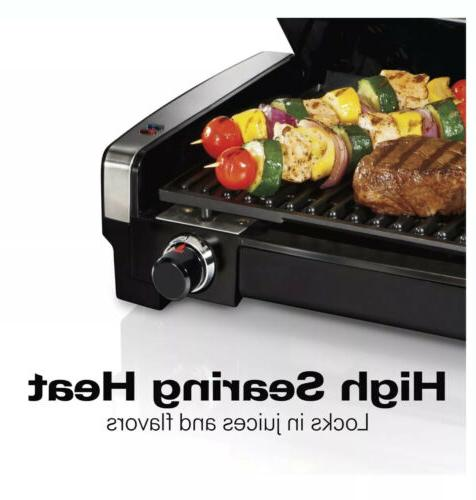 Indoor Smokeless Electric Grill, Healthy Portable