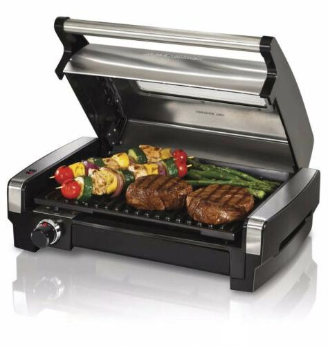 indoor smokeless electric grill healthy home kitchen