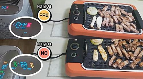 Anbang stick, Smokeless, electric, BBQ Grill DNW-101F + frying