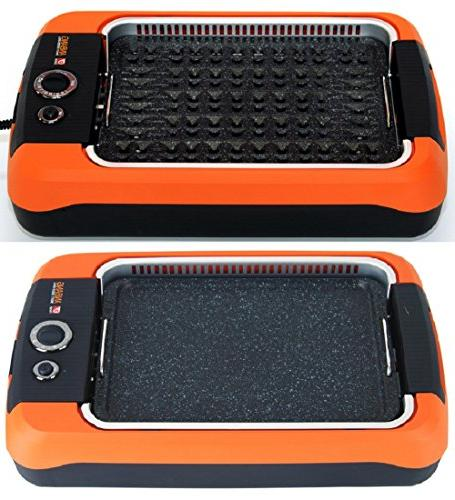 Anbang stick, Smokeless, electric, Grill + Gift frying