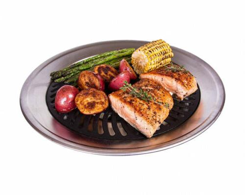 kitchen home stove top smokeless grill indoor