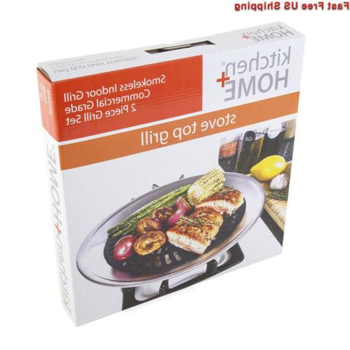Kitchen Top Grill BBQ with...