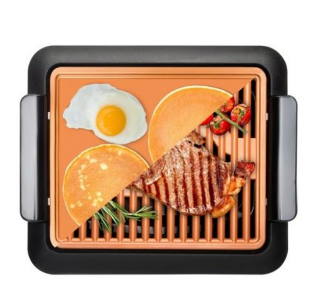 Kitchen Nonstick Smokeless Grill Surface