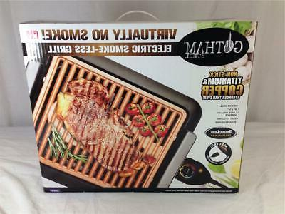 new electric smokeless indoor grill size small