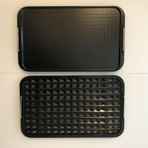 new non stick grill and griddle plate