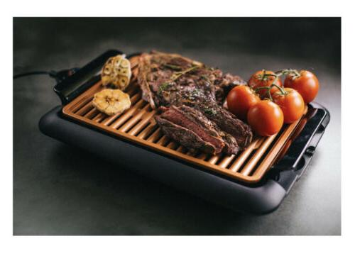 NIB Electric Grill with Surface Indoor