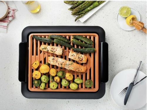 NIB Gotham Steel Smokeless Electric Grill with Surface Indoor BBQ
