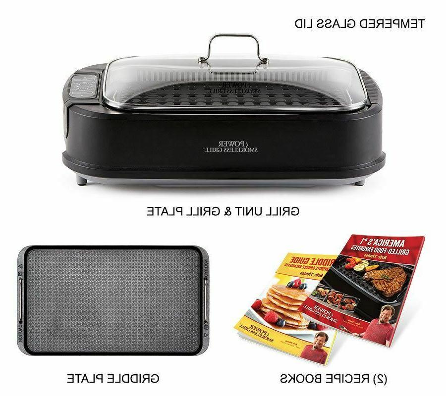 NON + 2 BOOKS for Power Smokeless Grill