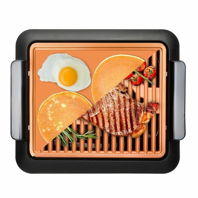 GOTHAM Non Stick Smokeless Grill and